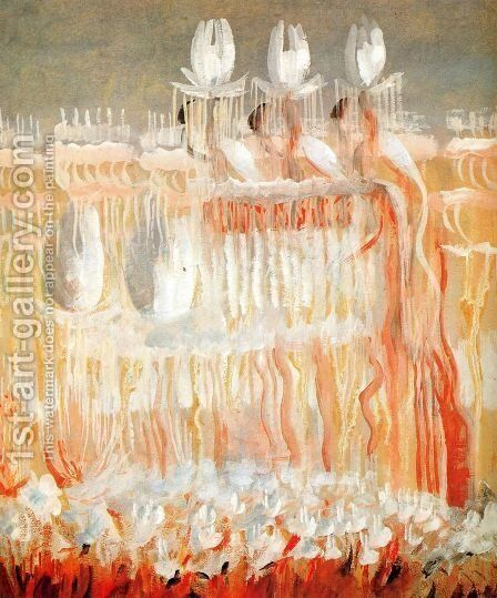 Creation of the World VIII by Mikolajus Ciurlionis - Reproduction Oil Painting