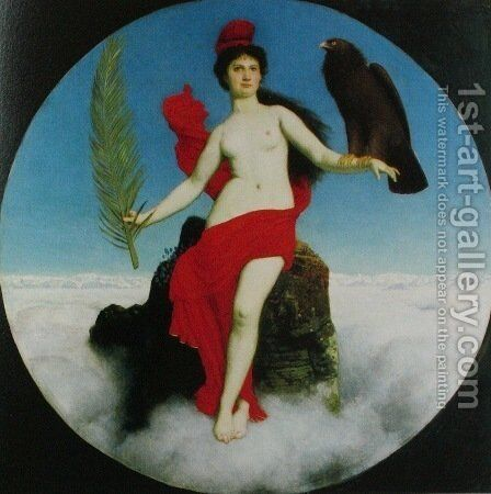 The Liberty by Arnold Böcklin - Reproduction Oil Painting