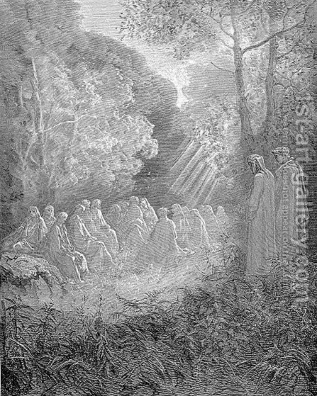The Dell by Gustave Dore - Reproduction Oil Painting