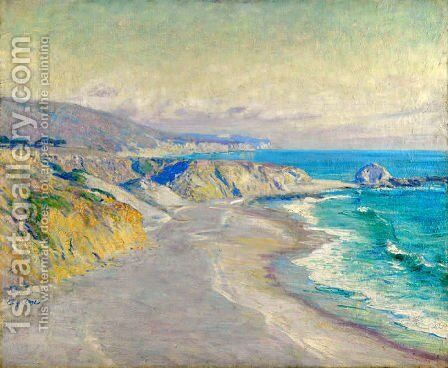 Laguna Beach by Guy Rose - Reproduction Oil Painting