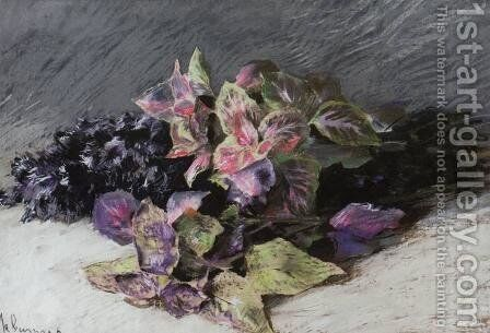 Coleus by Isaak Ilyich Levitan - Reproduction Oil Painting