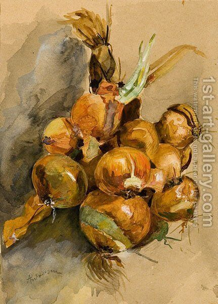 Onions by Ion Andreescu - Reproduction Oil Painting