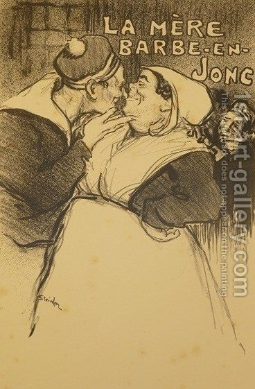 La Mere Barbe-En-Jonc by Theophile Alexandre Steinlen - Reproduction Oil Painting