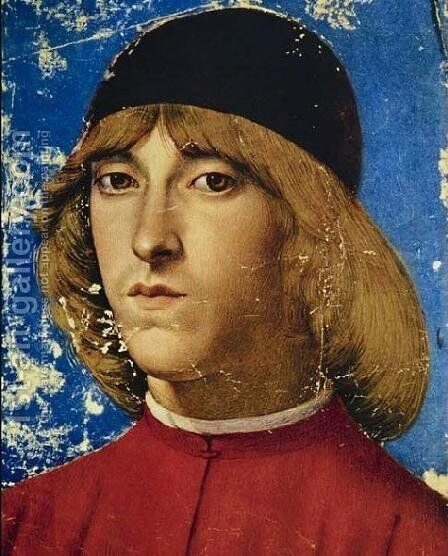 Piero, Eldest Son of Lorenzo the Magnificent, Called Piero the Unfortunate by Domenico Ghirlandaio - Reproduction Oil Painting