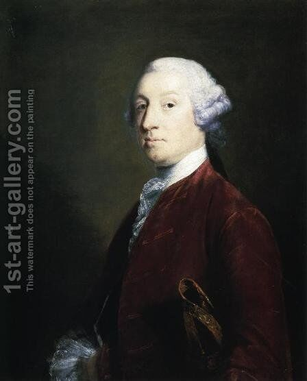 Robert Ramsden by Sir Joshua Reynolds - Reproduction Oil Painting