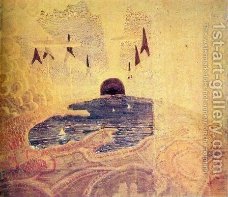 Prelude 3 by Mikolajus Ciurlionis - Reproduction Oil Painting