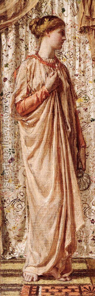 Amber by Albert Joseph Moore - Reproduction Oil Painting