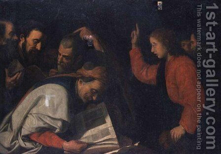 Jesus Among Doctors by Bartolome Esteban Murillo - Reproduction Oil Painting