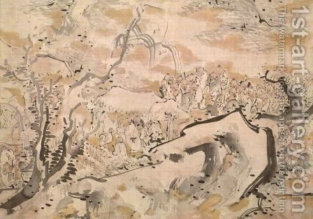 unknown title 2 by Ike no Taiga - Reproduction Oil Painting