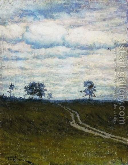 Gloomy by Isaak Ilyich Levitan - Reproduction Oil Painting