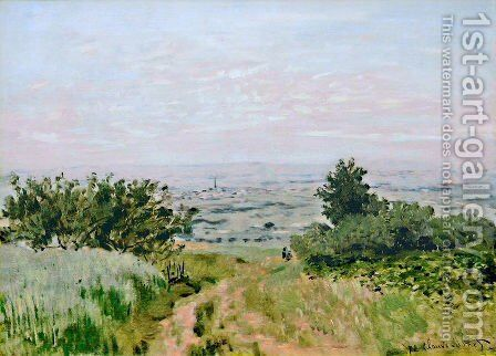 View to the Plain of Argenteuil by Claude Oscar Monet - Reproduction Oil Painting