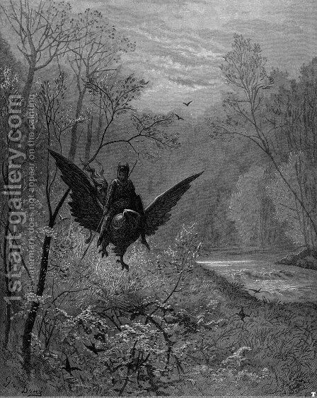 Orlando Furioso 10 by Gustave Dore - Reproduction Oil Painting