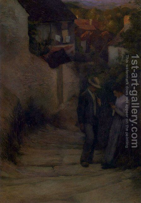 Meet by Henri Martin - Reproduction Oil Painting