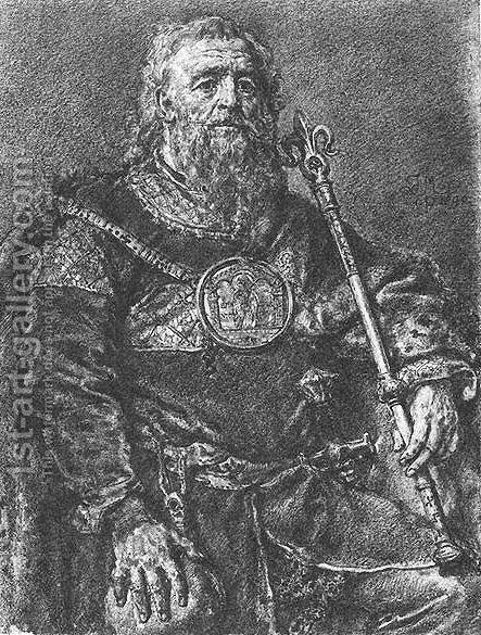 Mieszko III Stary by Jan Matejko - Reproduction Oil Painting