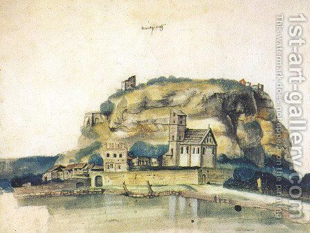 Doss Trento by Albrecht Durer - Reproduction Oil Painting