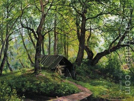 Old lime by Ivan Shishkin - Reproduction Oil Painting