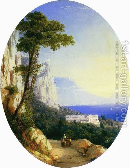 Oreanda by Ivan Konstantinovich Aivazovsky - Reproduction Oil Painting