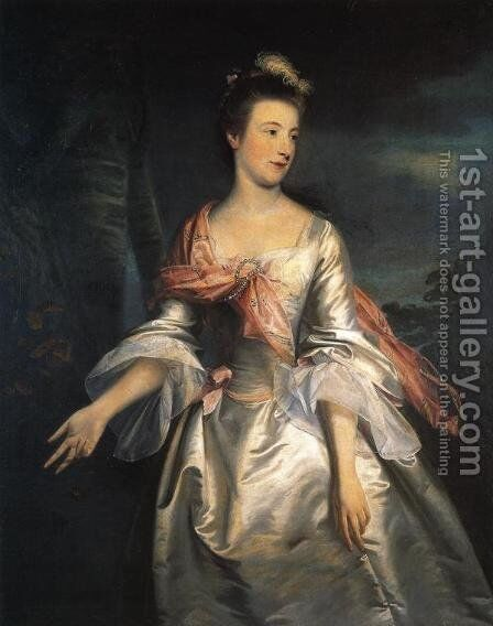 Lucy, Lady Strange by Sir Joshua Reynolds - Reproduction Oil Painting