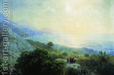 Crete by Ivan Konstantinovich Aivazovsky - Reproduction Oil Painting
