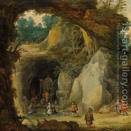 Allegory of Sight and Smell 2 by Jan The Elder Brueghel - Reproduction Oil Painting