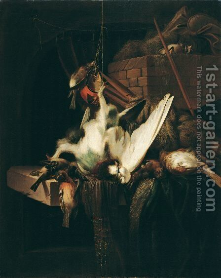 Dead poultry by Jan Weenix - Reproduction Oil Painting