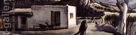 Mexico by Millard Sheets - Reproduction Oil Painting