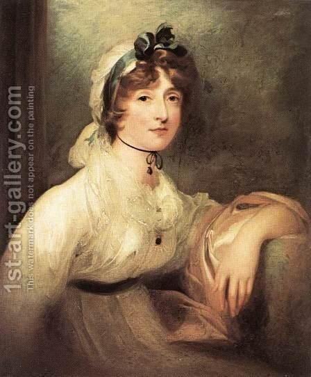 Diana Sturt, Lady Milner 1815-20 by Sir Thomas Lawrence - Reproduction Oil Painting