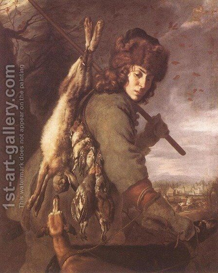 November 1643 by Joachim von, I Sandrart - Reproduction Oil Painting