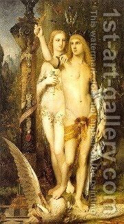 Jason With The Golden Fleece by Berthel Thorvaldsen - Reproduction Oil Painting