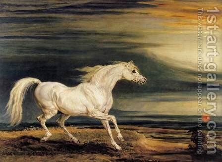 Marengo 1824 by James Ward - Reproduction Oil Painting