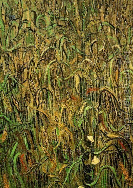 Ears Of Wheat by Vincent Van Gogh - Reproduction Oil Painting
