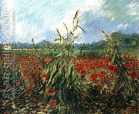 Green Ears Of Wheat by Vincent Van Gogh - Reproduction Oil Painting