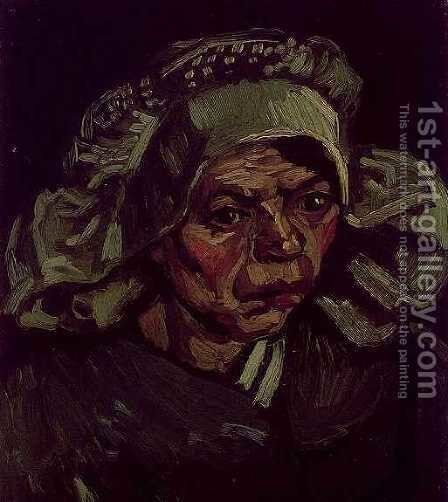 Head Of A Woman VI by Vincent Van Gogh - Reproduction Oil Painting