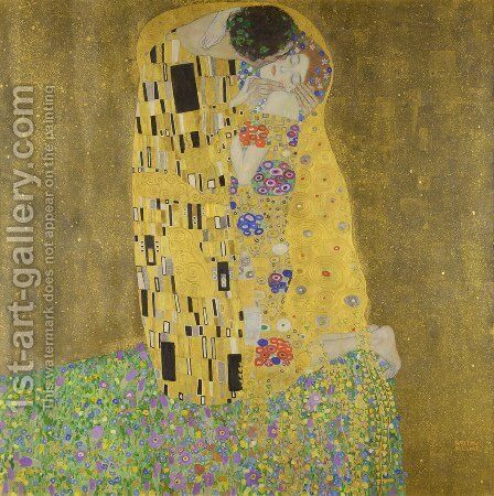 The Kiss by Gustav Klimt - Reproduction Oil Painting