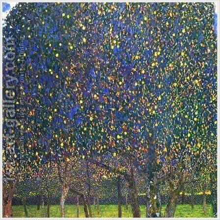 The Pear Tree by Gustav Klimt - Reproduction Oil Painting