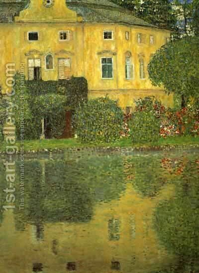 Schlob Kammer On The Attersee by Gustav Klimt - Reproduction Oil Painting