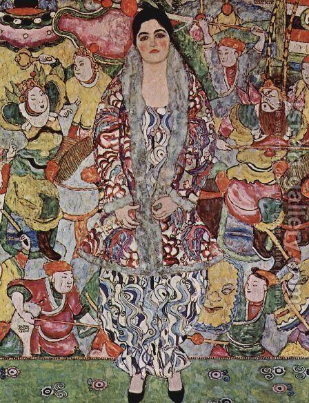 Portrait Of Friederike Maria Beer by Gustav Klimt - Reproduction Oil Painting