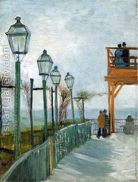Montmartre by Vincent Van Gogh - Reproduction Oil Painting
