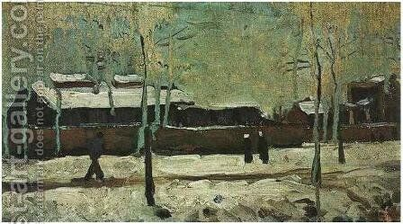 The Old Station At Eindhoven by Vincent Van Gogh - Reproduction Oil Painting