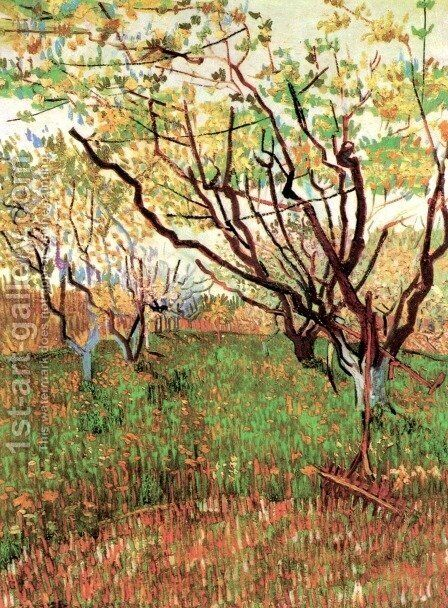 Orchard In Blossom III by Vincent Van Gogh - Reproduction Oil Painting