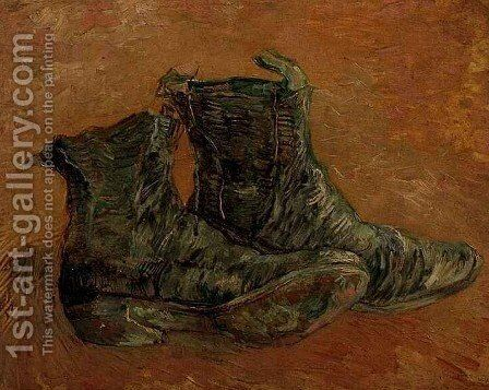 Pair Of Shoes A II by Vincent Van Gogh - Reproduction Oil Painting