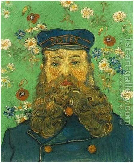 Portrait Of The Postman Joseph Roulin VI by Vincent Van Gogh - Reproduction Oil Painting