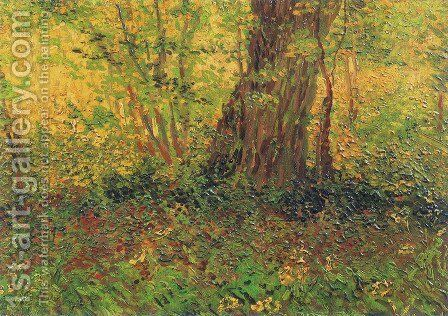 Undergrowth II Painting by Vincent Van Gogh