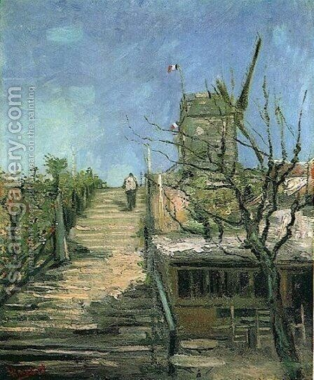 Windmill On Montmartre by Vincent Van Gogh - Reproduction Oil Painting