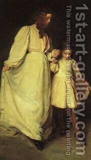 Dorothea And Francesca CGF by Beaux Cecilia - Reproduction Oil Painting