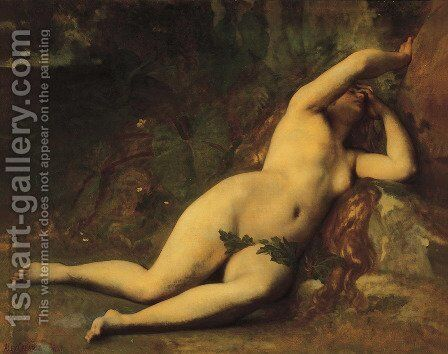 Eve After The Fall by Alexandre Cabanel - Reproduction Oil Painting