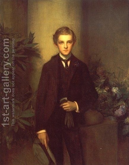 Portrait Of Childs Frick by Dagnan-bouveret Pascal - Reproduction Oil Painting