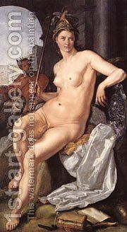 Minerva by Goltzius Hendrick - Reproduction Oil Painting