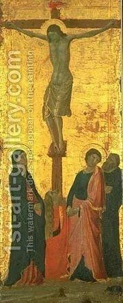 Crucifixion by Jacopo Del Casentino - Reproduction Oil Painting