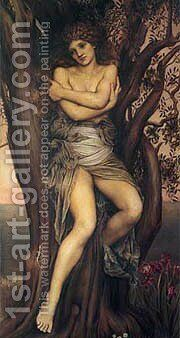 De  Evelyn Dryad by Morgan Evelyn De - Reproduction Oil Painting